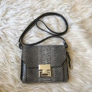 Ivanka Trump Small Snake Print Crossbody Purse
